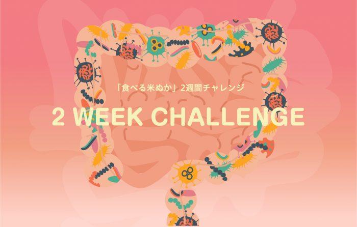 米ぬか2週間チャレンジイメージ画像